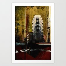 Uprooted Art Print