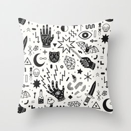 Witchcraft II Throw Pillow