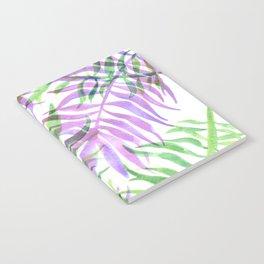 Watercolour Palm Print Notebook