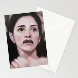 Portrait of Sarah Silverman Stationery Cards