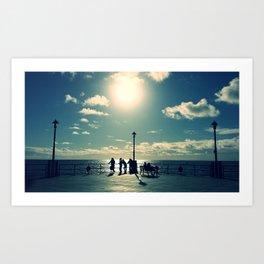 Redondo Pier  Art Print