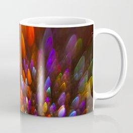 Champagne Sparkles and Color Bomb Burst Coffee Mug
