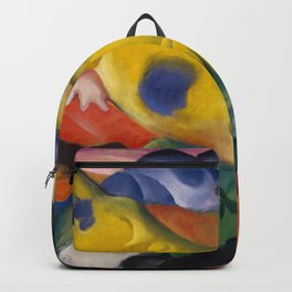 """Franz Marc """"Yellow cow"""" Backpack"""