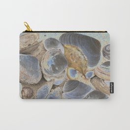 Seashell Abstract Carry-All Pouch