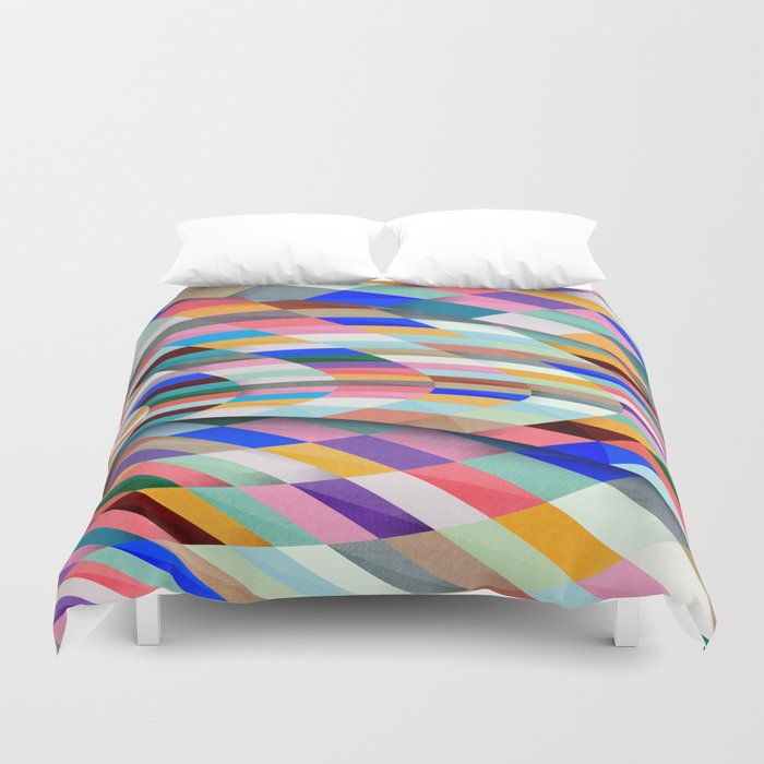 Colourful Twist Duvet Cover