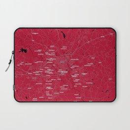 FanMap   NCAA UGA #02 Laptop Sleeve