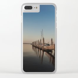 Sunrise Over the St. John's River Clear iPhone Case