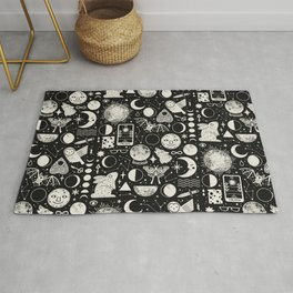 Lunar Pattern: Eclipse Rug