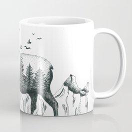Mountain Moose Coffee Mug