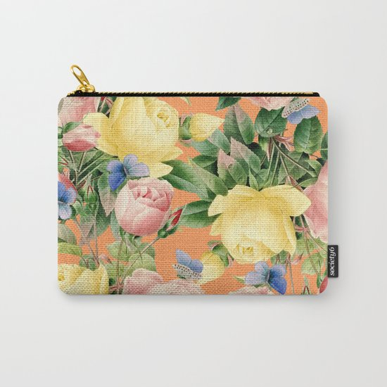Flora #society6 #decor #buyart Carry-All Pouch