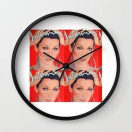 interviewmagazinecher Wall Clock