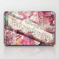 broadway iPad Cases featuring Broadway by LebensART