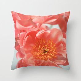 Paeonia #6 Throw Pillow