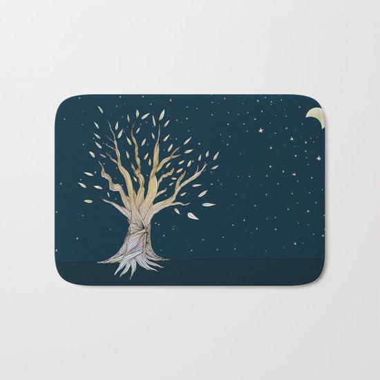 Moonlit Tree Bath Mat
