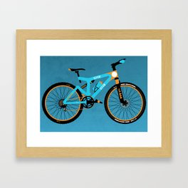 Mountain Bike Framed Art Print