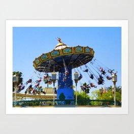 Silly Symphony Swings I Art Print