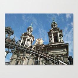 Church, San Telmo, Buenos Aires Canvas Print