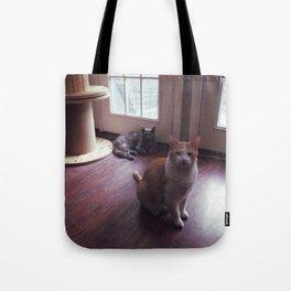 cat squad Tote Bag