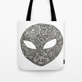 Alien Power Tote Bag