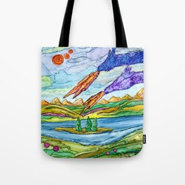 Dragons Appeared Tote Bag