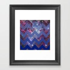 Infinite Navy Framed Art Print