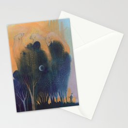 Forest of Endless Sleep Stationery Cards