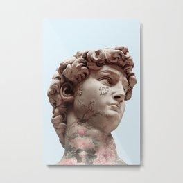 DAVID LOVES ART Metal Print