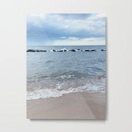 Calm Shore Metal Print