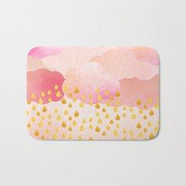 Rose gold rainshowers Bath Mat