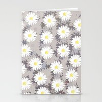 daisies Stationery Cards featuring Daisies by Georgiana Paraschiv
