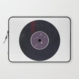 Vinyl Record Star Sign Art | Libra Laptop Sleeve