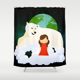 Homesickness 1 Shower Curtain