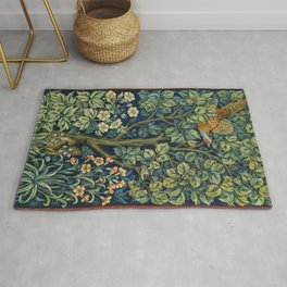 Cock Pheasant (1916) by William Morris and John Henry Dearle Rug