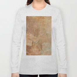 Antique Vintage Textured Background Long Sleeve T-shirt