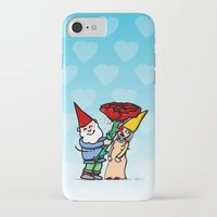gnome iPhone & iPod Cases featuring Gnome Love by Stephan Brusche