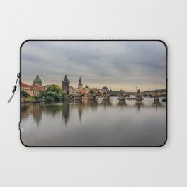 Charles Bridge, Prague, Czech Republic Laptop Sleeve