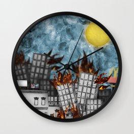 Hell Fire & McDonalds Wall Clock