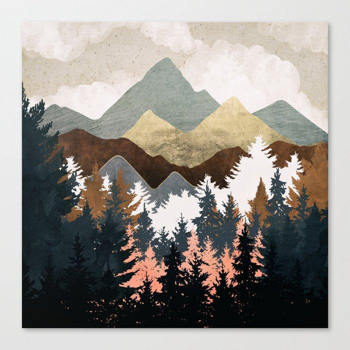 Forest View Leinwanddruck