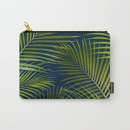 Palms on Royal Blue Carry-All Pouch