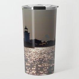 Bug Light Ocean Glitter Travel Mug