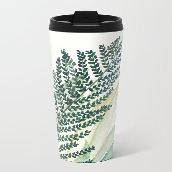 Botanical vibes 02 Metal Travel Mug