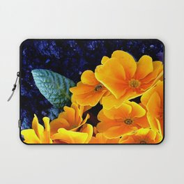 Flower at night Laptop Sleeve