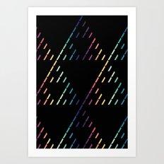 Sierpinski Triangles Art Print