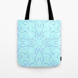 Curvy Symmetry Tote Bag