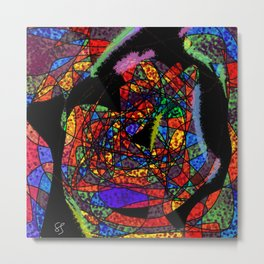 light is magnet Metal Print