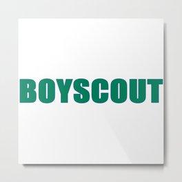 BOYSCOUT BY ROBERT DALLAS Metal Print