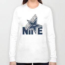 I Am Number 9 Long Sleeve T-shirt