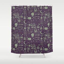 Haunted Attic: Phantom Shower Curtain