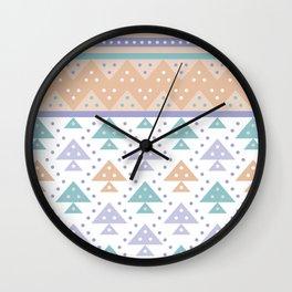 Tee-Pee Wall Clock