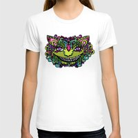 cheshire cat T-shirts featuring CHESHIRE by AZZURRO ARTS